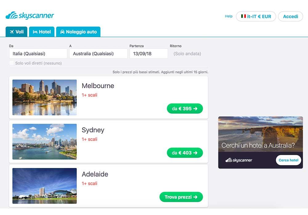 come-trovare-voli-economici-per-l'australia