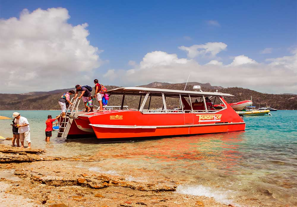 Whitsunday Island come arrivare