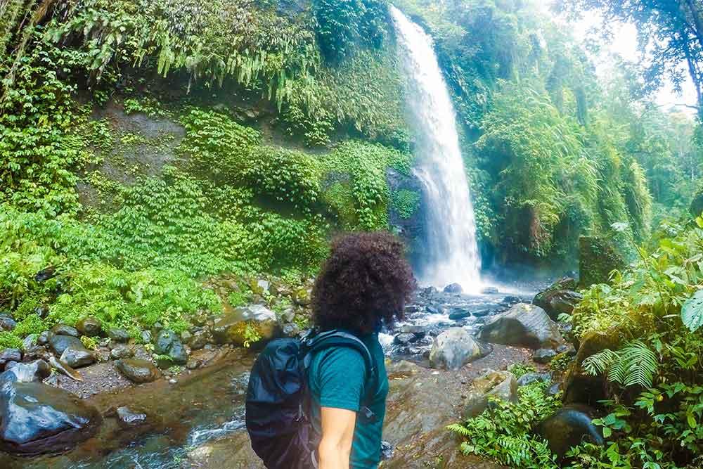 Le cascate di Senaru