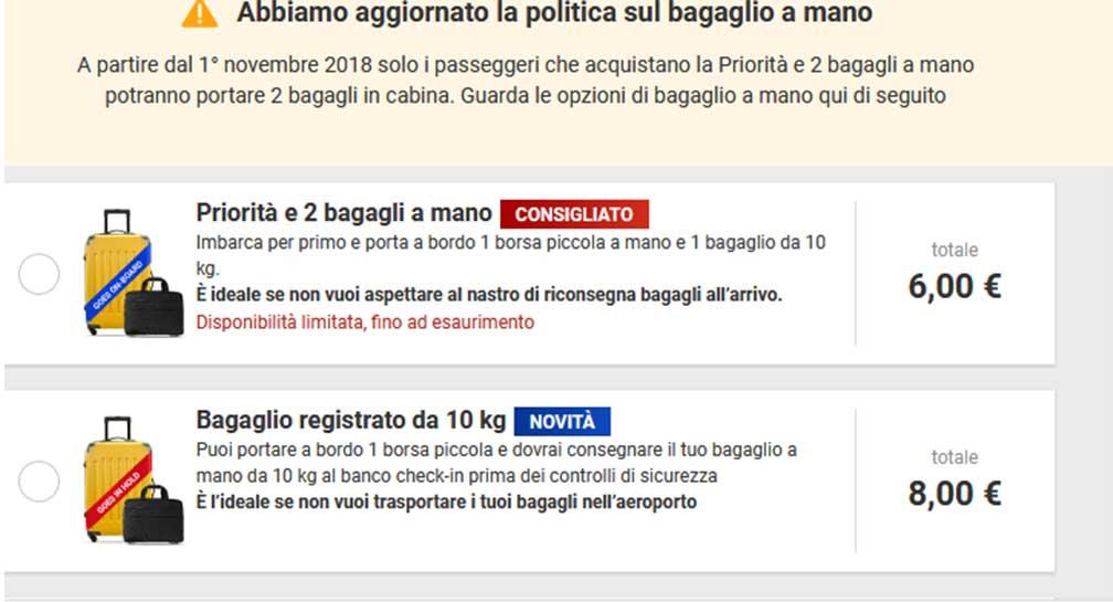 Bagaglio-a-mano-Ryanair-nuove-regole