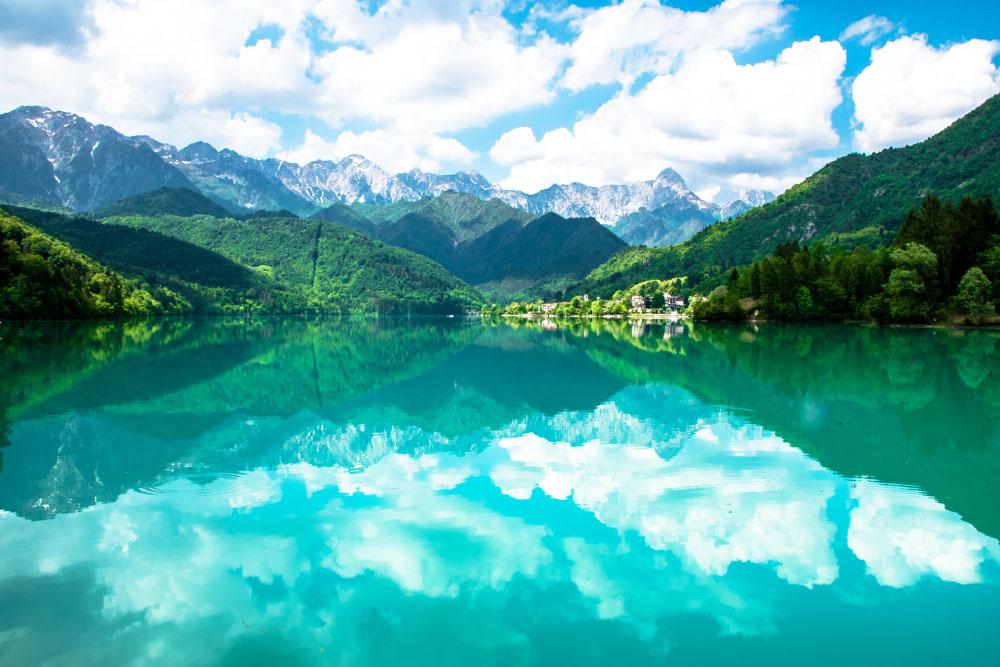 lago di barcis pordenone