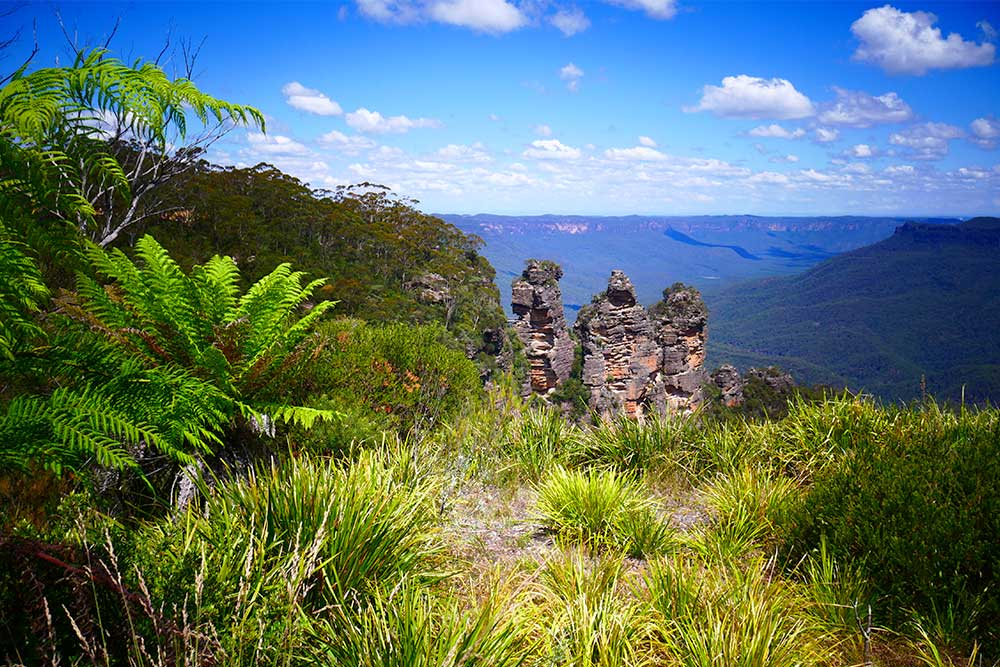 blue mountains sydney positivitrip