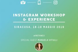 instagram workshop sicilia #instawex