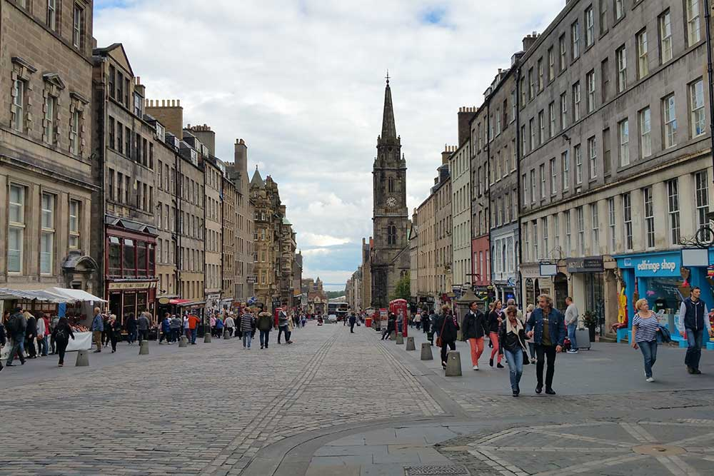Royal Mile Edimburgo