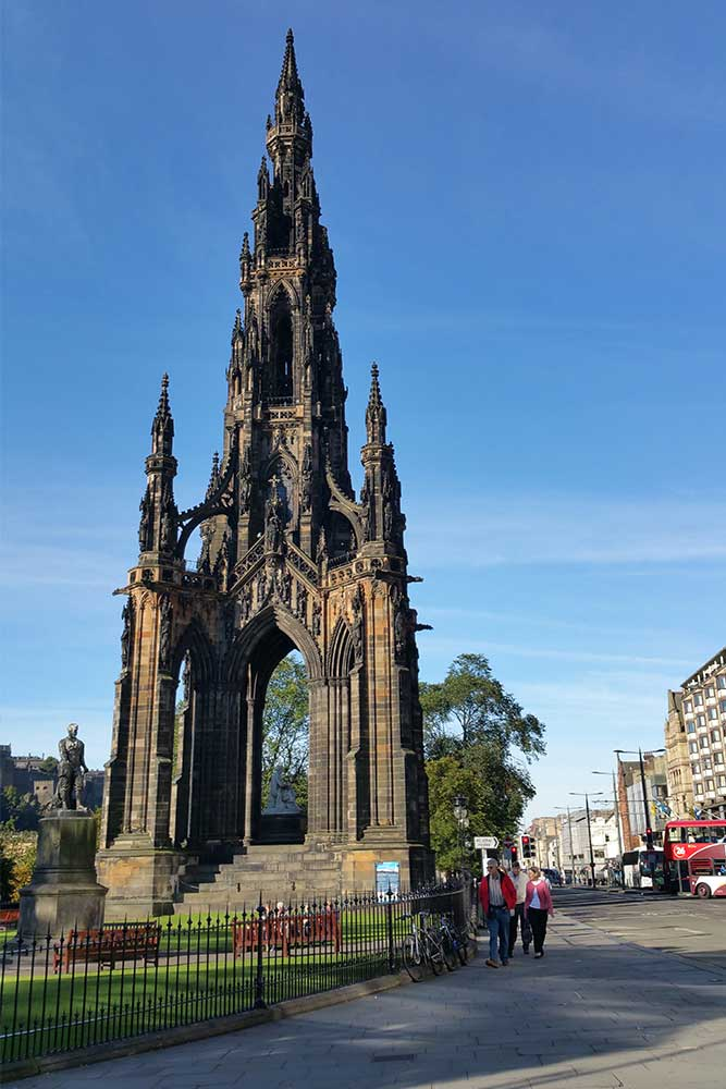 scott monument Edimburgo
