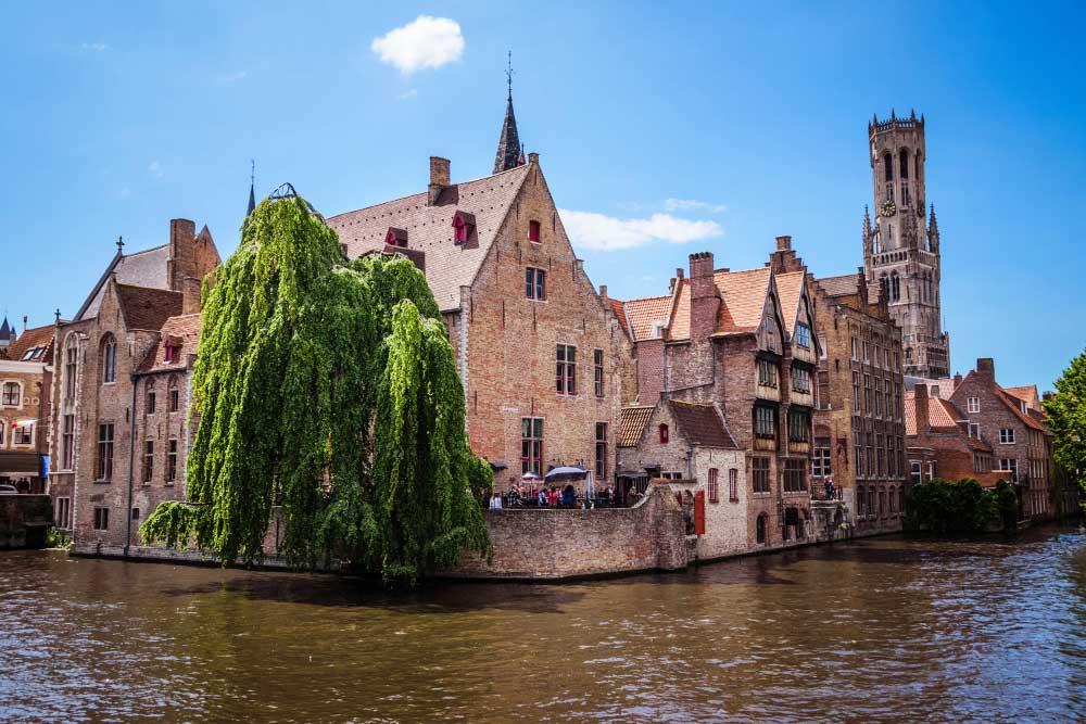 Bruges-cosa-vedere molo del rosario