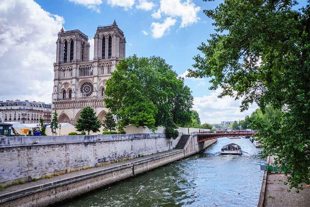 Come muoversi a Parigi notre dame