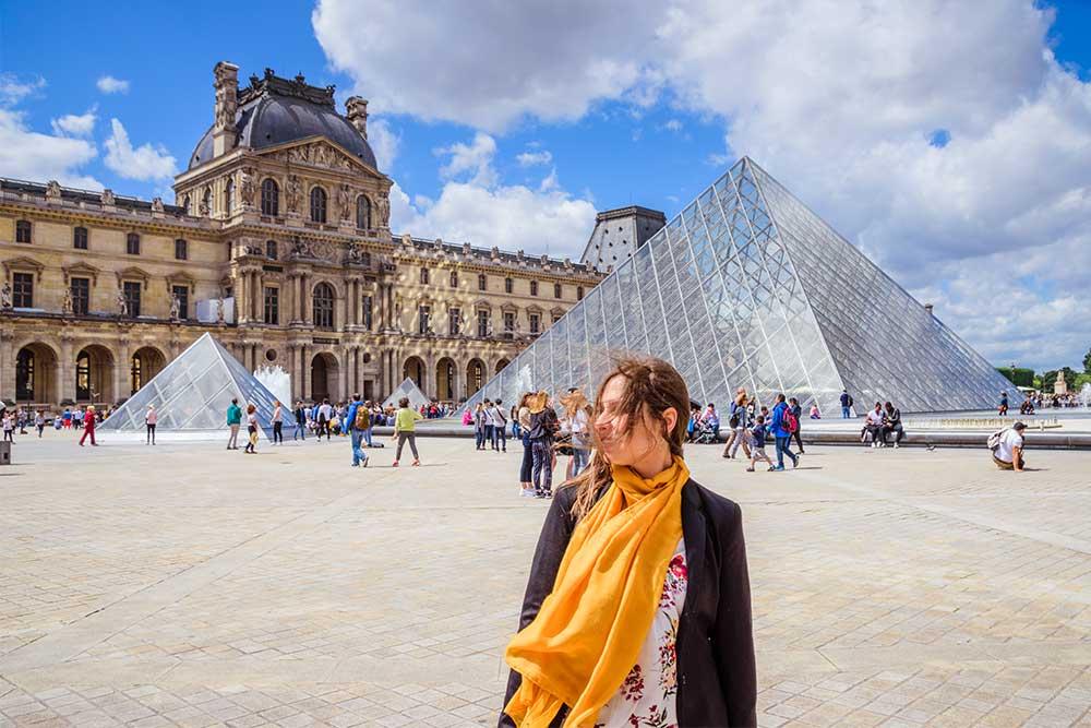 Come muoversi a Parigi Louvre