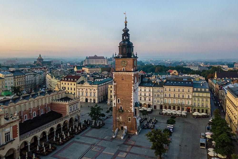 Cracovia cosa vedere torre del municipio