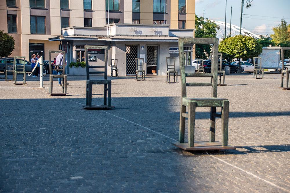 Cracovia-cosa-vedere-piazza-eroi-del-ghetto