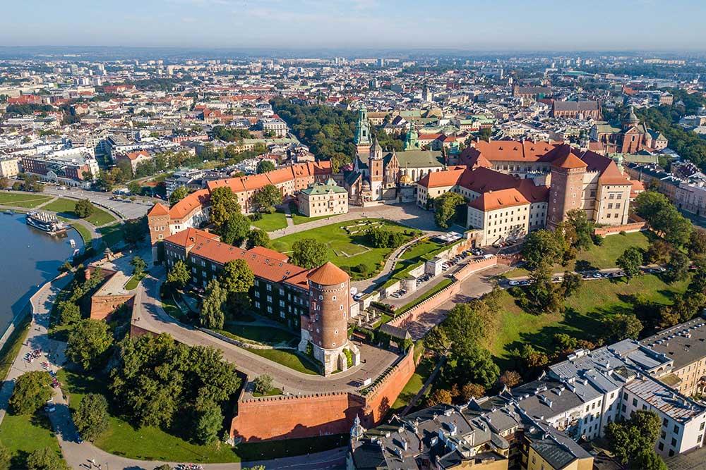 Cracovia cosa vedere castello di wawel