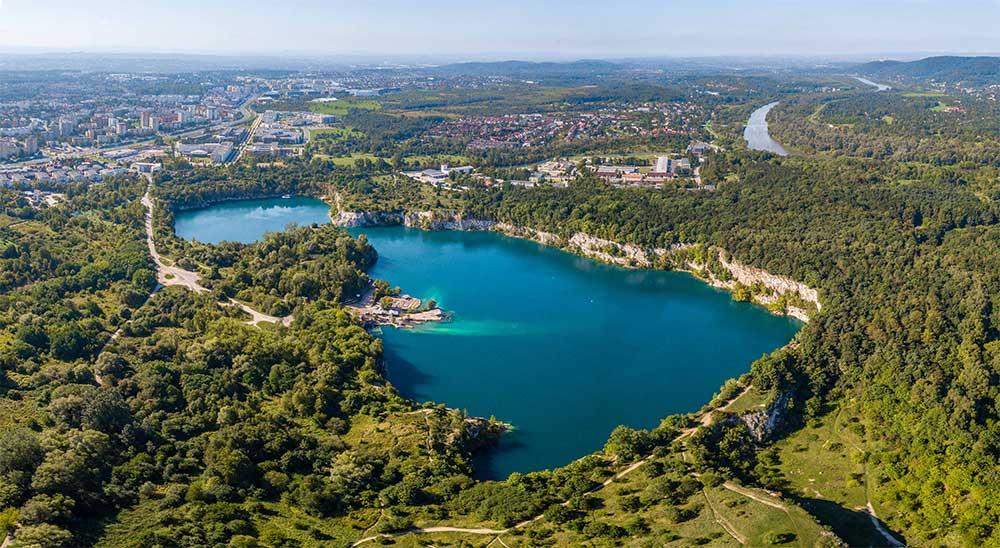 Cracovia cosa vedere Lago Zakrzowek