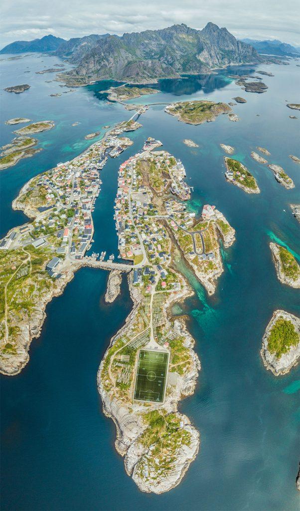 isole Lofoten Norvegia Henningsvaer