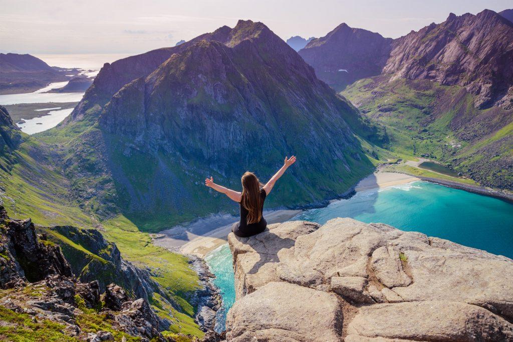 isole Lofoten Norvegia Ryten