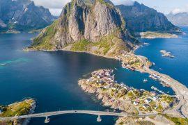 isole Lofoten Norvegia Hamnoy