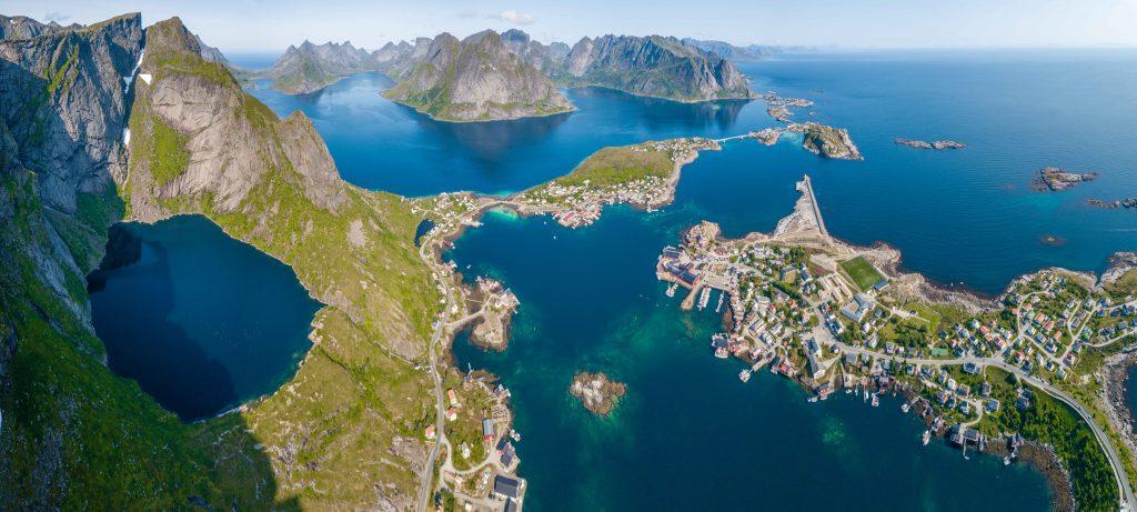 isole Lofoten Norvegia Reinebringen