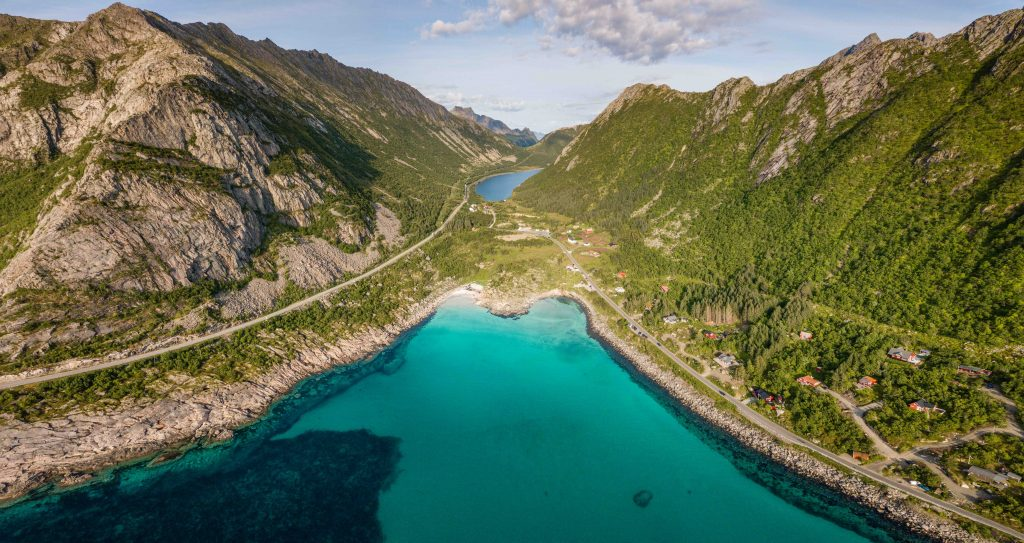 isole Lofoten Norvegia Rorvikstranda