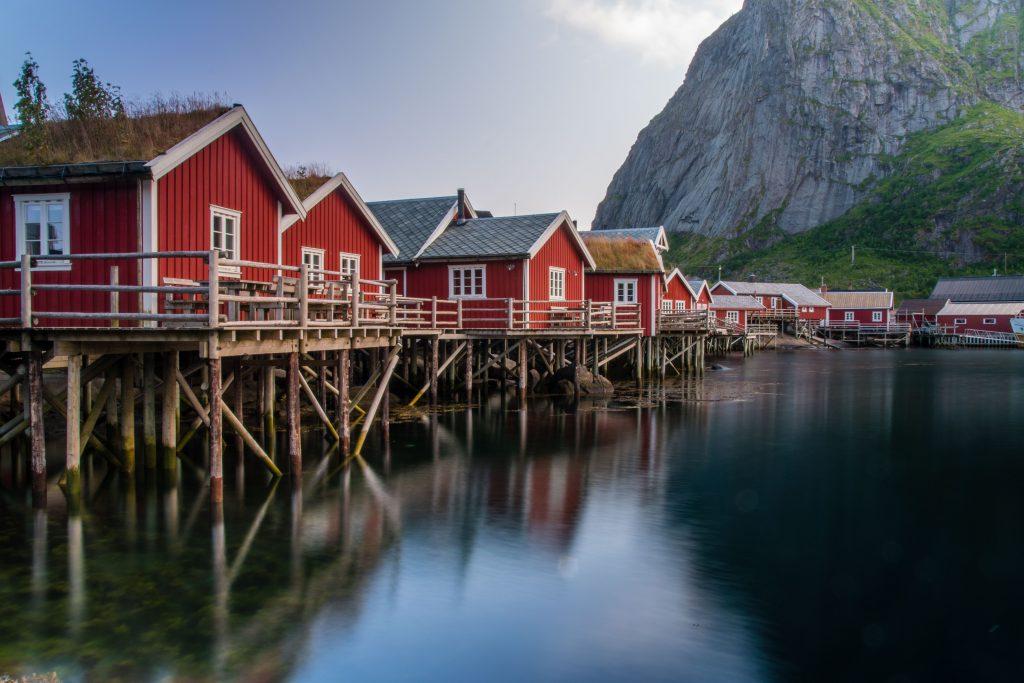 isole Lofoten Norvegia Reine