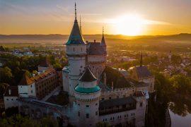 posti sconosciuti da visitare in Europa Castello Bojnice Slovacchia