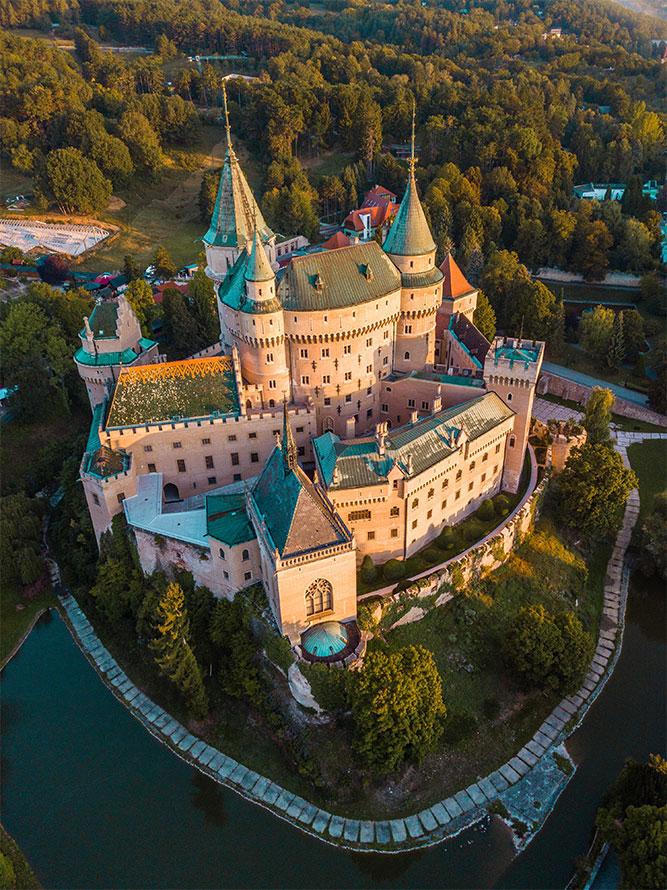 posti sconosciuti da visitare in Europa Castello Bojnice
