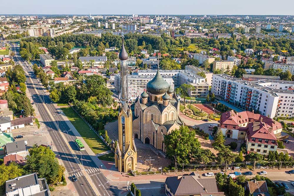 posti sconosciuti da visitare in Europa Bialystok Polonia