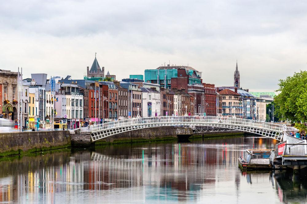 Come organizzare 3 giorni a Dublino ponte