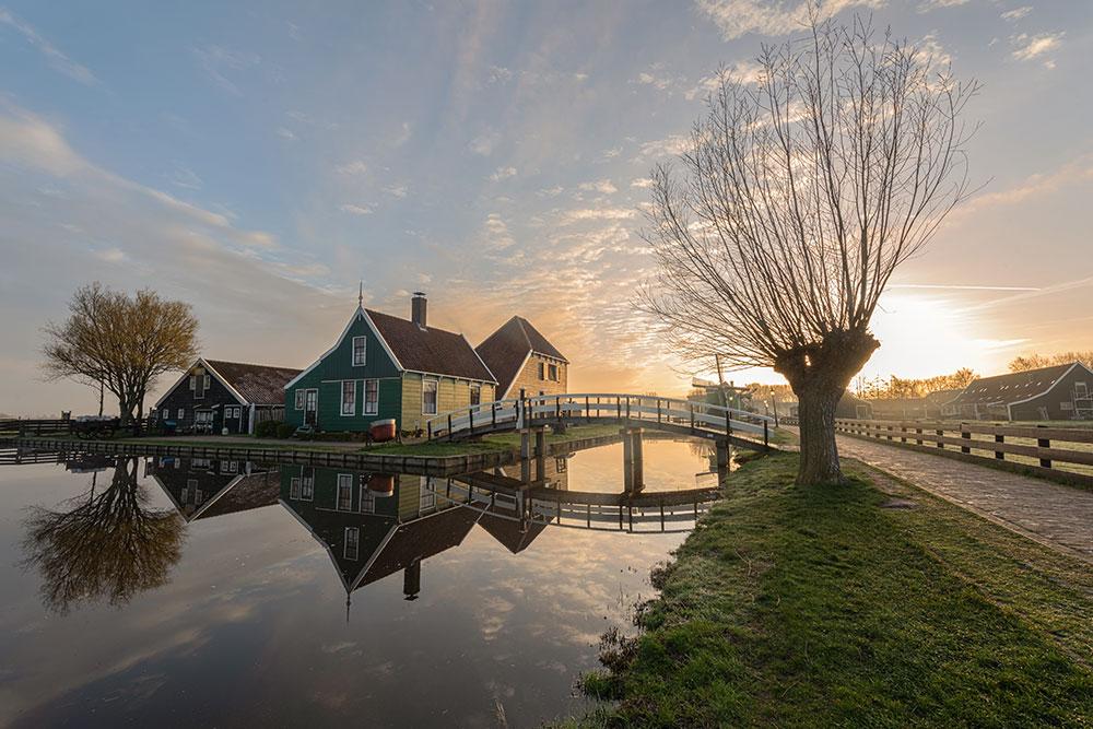 come-muoversi-ad-amsterdam- Zaanse Schans