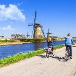 Kinderdijk-mulini-a-vento-percorso-ciclabile-olanda-