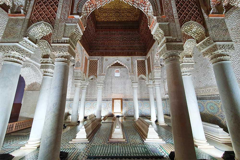 Marrakech-cosa-vedere-tombe-saadiane-marocco