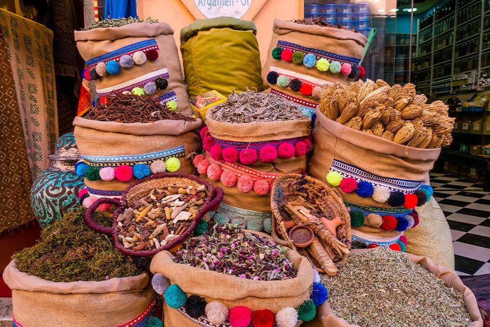 Marrakech-cosa-vedere-souk-medina-prodotti-tipici-spezie