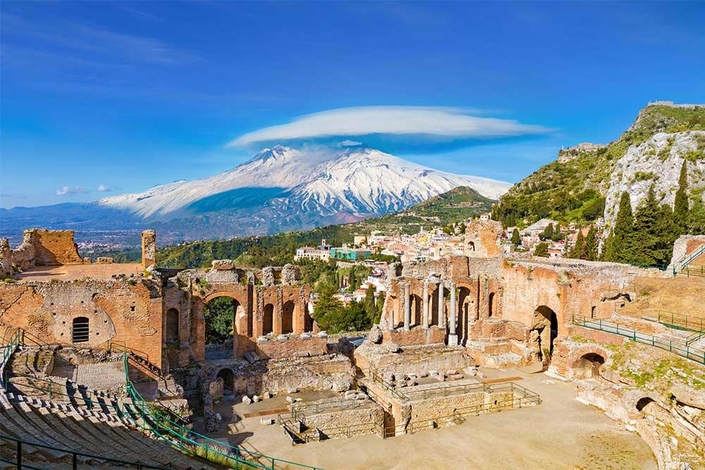 città più romantiche d'italia taormina sicilia