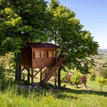 Dormire in una casa sull'albero? Le 7 case sull'albero in Italia che non conoscevi!