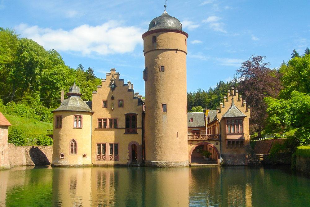 castelli-in-Germania-mespelbrunn