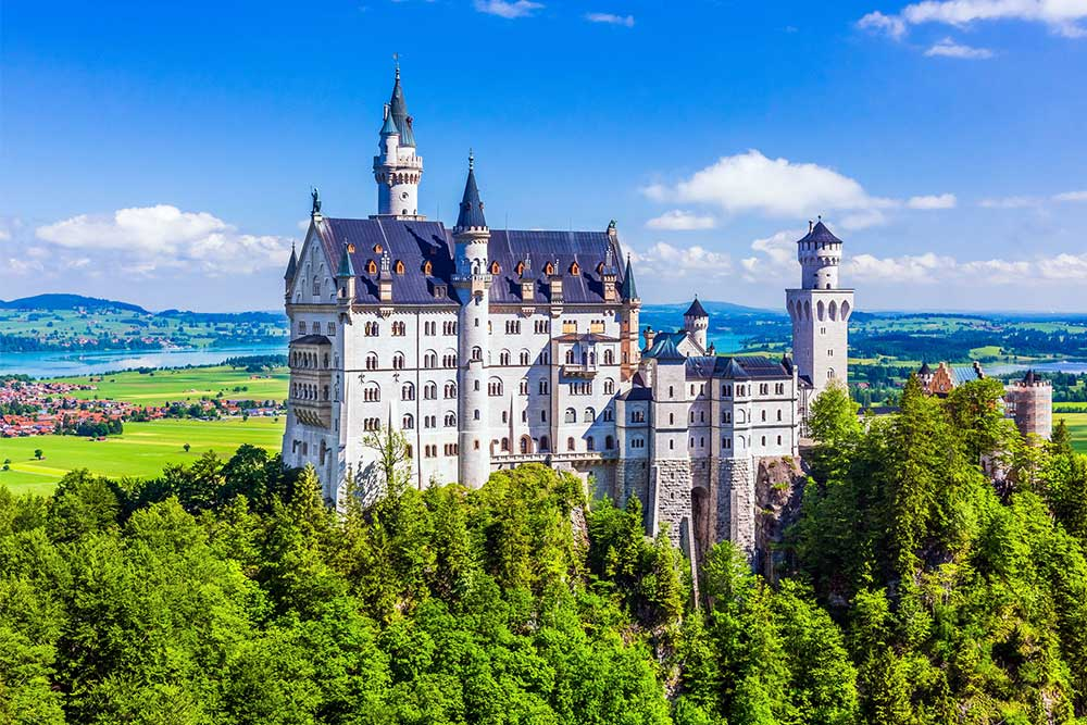 castelli-in-Germania-neuschwanstein-baviera