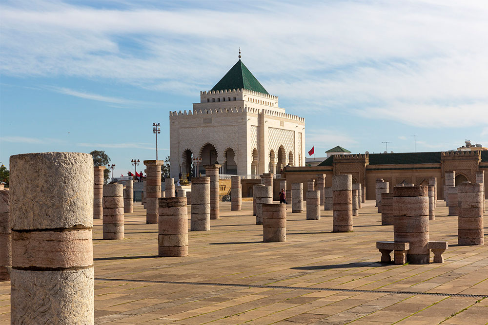 cosa-vedere-a-Rabat-mausoleo-Mohamed-V
