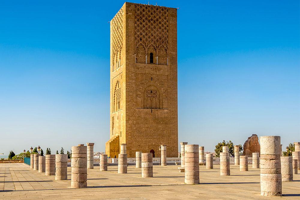 cosa-vedere-a-Rabat-torre-hassan-II