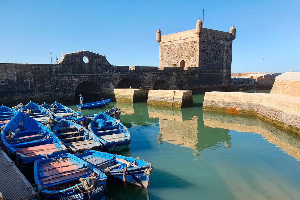 Da-Marrakech-a-Essaouira-skala-du-port