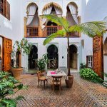 Riad-a-Rabat-cortile-interno-dar-mayssane
