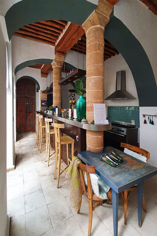 Riad-a-Rabat-cucina-dar-mayssane