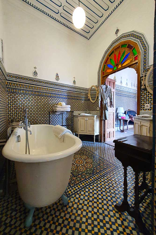 Riad-a-Rabat-bagno-tipico-marocchino-dar-mayssane