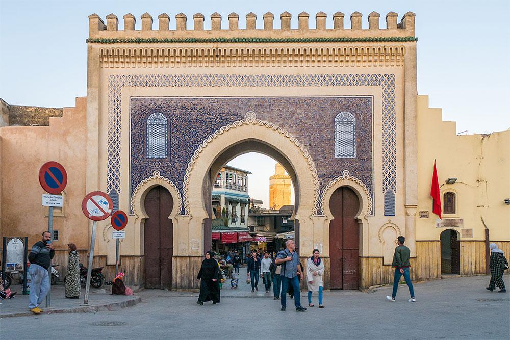 porta bab boujloud fes marocco positivitrip