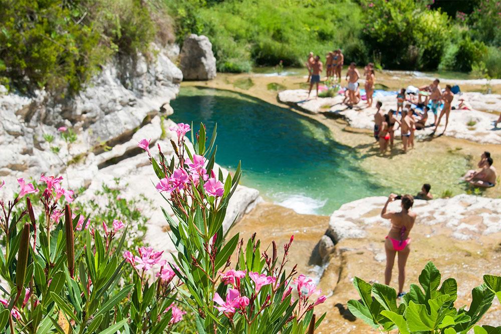 la riserva naturale di cavagrande cassibile sicilia