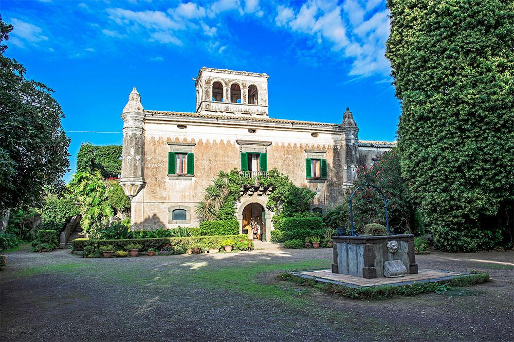 castello degli schiavi fiumefreddo sicilia il padrino