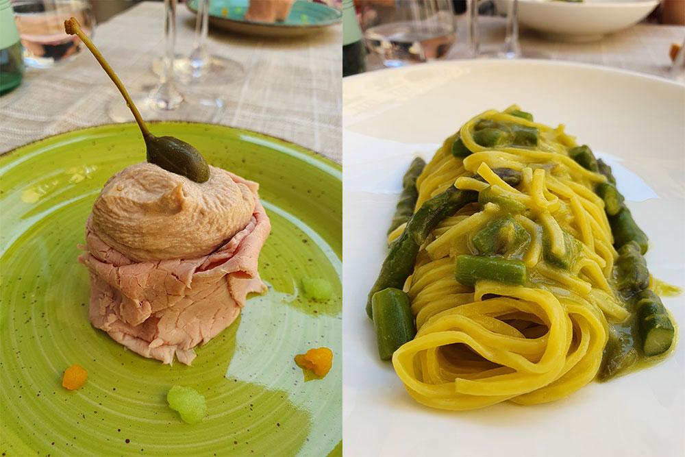 vitello-tonnato-tajarin-torino-ristorante-sorij